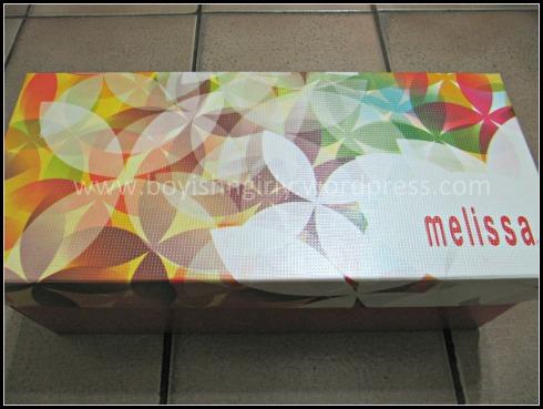A caixa com estampa da nova coleção, We Are Flowers
